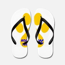 I Love Norfolk Terrier Dog Flip Flops