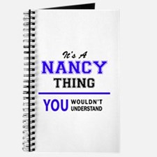 It's NANCY thing, you wouldn't understand Journal