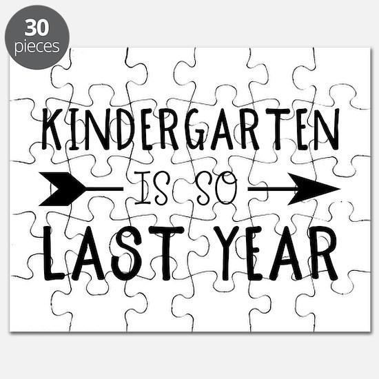 So Last Year - Kindergarten Puzzle