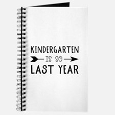 So Last Year - Kindergarten Journal