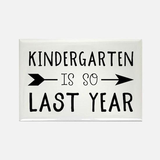 So Last Year - Kindergarten Magnets