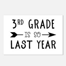 So Last Year - 3rd Grade Postcards (Package of 8)