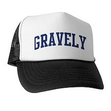 GRAVELY design (blue) Trucker Hat