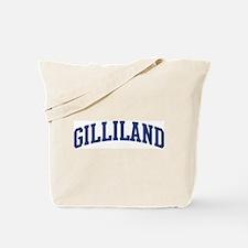 GILLILAND design (blue) Tote Bag