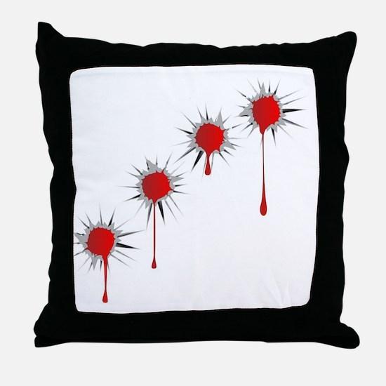 Cute Bullet Throw Pillow