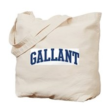 GALLANT design (blue) Tote Bag