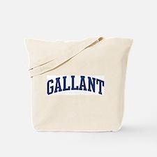 GALLANT design (blue) Tote Bag