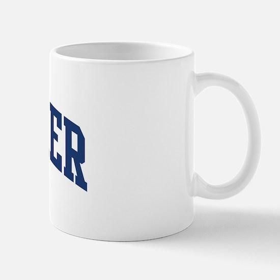 GALLAHER design (blue) Mug