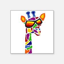 Giraffe in Sunglasses Sticker