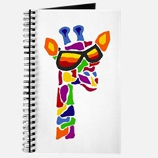 Giraffe in Sunglasses Journal