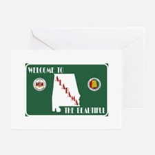 """""""Welcome to Alabama The Greeting Cards (Pk of 10)"""