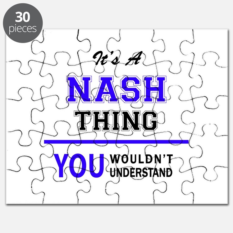 It's NASH thing, you wouldn't understand Puzzle