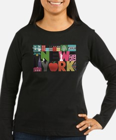 Unique New York - Block by Block Long Sleeve T-Shi