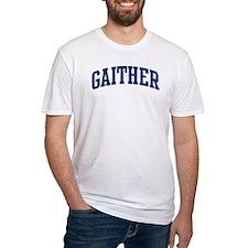 GAITHER design (blue) Shirt