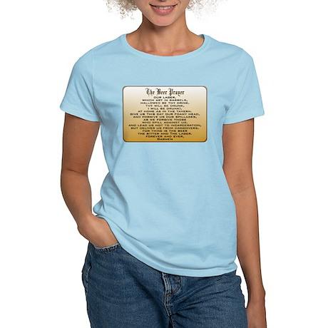 Beer Prayer Women's Light T-Shirt
