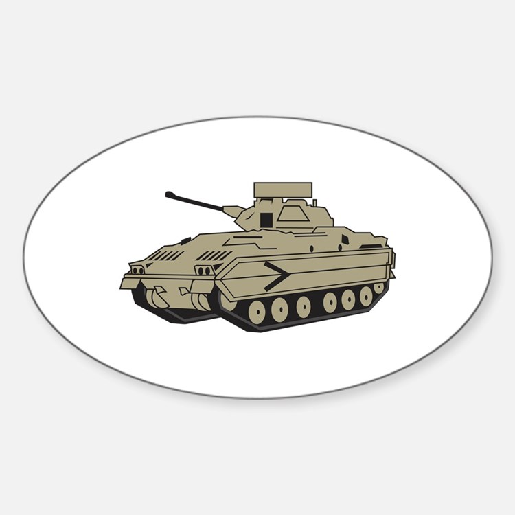M Two Bradley Tank Decal