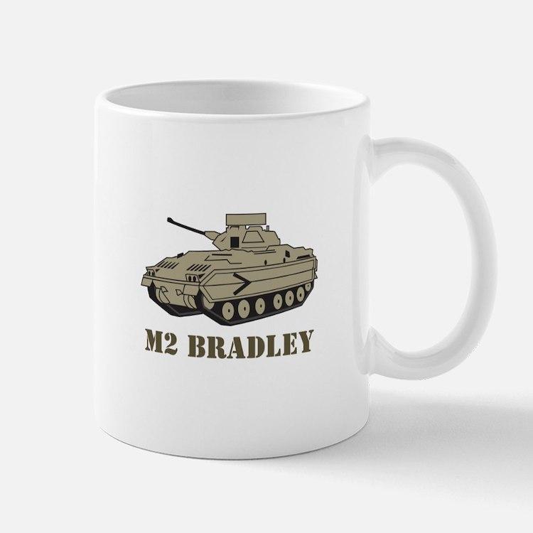 M Two Bradley Mugs