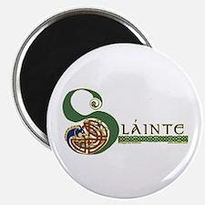 Slainte Celtic Knotwork Magnet