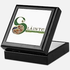 Slainte Celtic Knotwork Keepsake Box