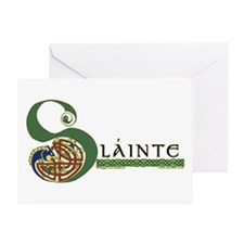 Slainte Celtic Knotwork Greeting Card