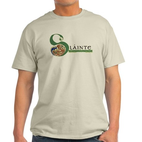 Slainte Celtic Knotwork Light T-Shirt