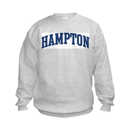 CafePress  - HAMPTON design (blue) Kids Sweatshirt