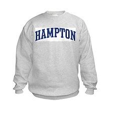 HAMPTON design (blue) Sweatshirt