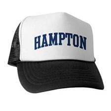 HAMPTON design (blue) Trucker Hat