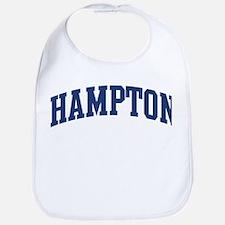 HAMPTON design (blue) Bib