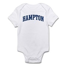 HAMPTON design (blue) Infant Bodysuit