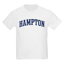HAMPTON design (blue) T-Shirt