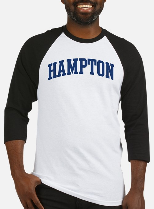 HAMPTON design (blue) Baseball Jersey