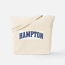 HAMPTON design (blue) Tote Bag