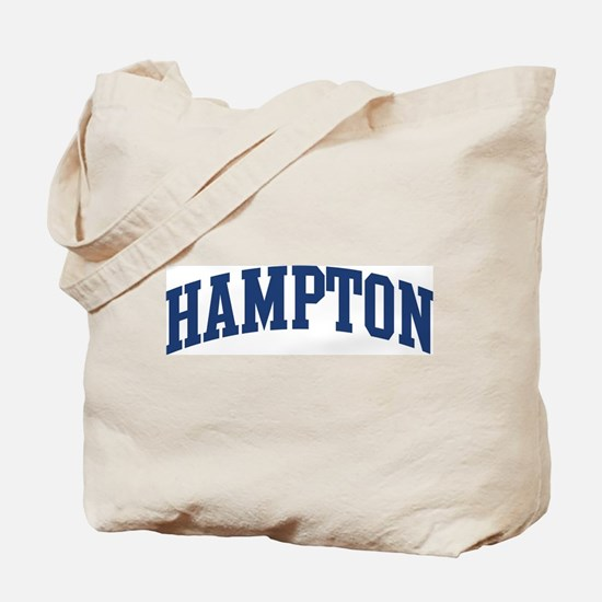 HAMPTON design (blue) Tote Bag