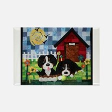 Berners at Play Magnets