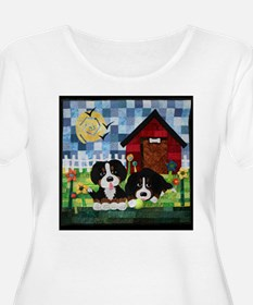 Berners at Play Plus Size T-Shirt