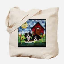 Unique Bernese puppy Tote Bag