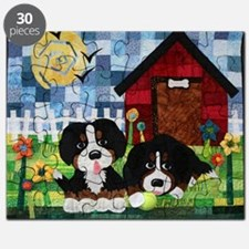 Cute Bernese mountain dog Puzzle