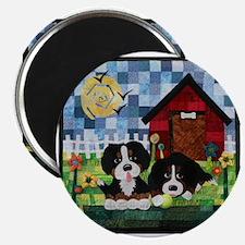 Cute Bernese puppy Magnet