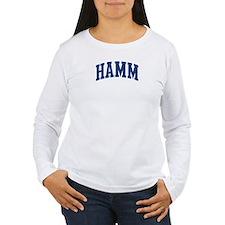 HAMM design (blue) T-Shirt