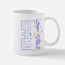 Pac Man Glitch Design Mugs