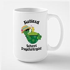 Retired School Psychologist Mugs