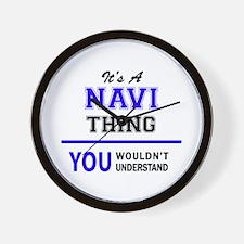 It's NAVI thing, you wouldn't understan Wall Clock