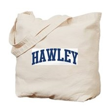 HAWLEY design (blue) Tote Bag