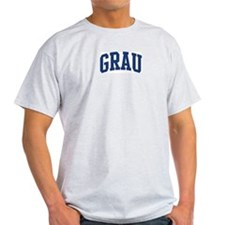 GRAU design (blue) T-Shirt