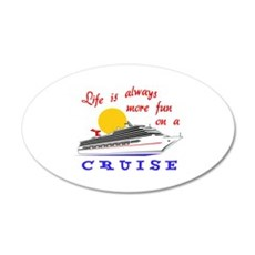 More Fun On A Crusie Wall Decal