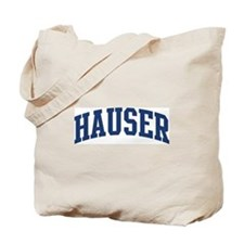 HAUSER design (blue) Tote Bag