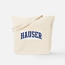 HAUSER design (blue) Tote Bag