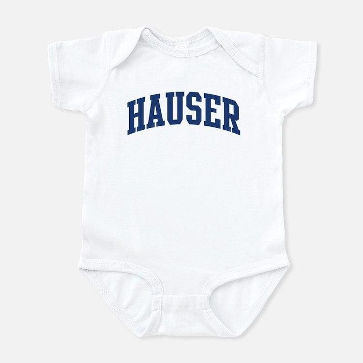 HAUSER design (blue) Infant Bodysuit