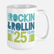 25th Anniversary Rock N Roll Mugs